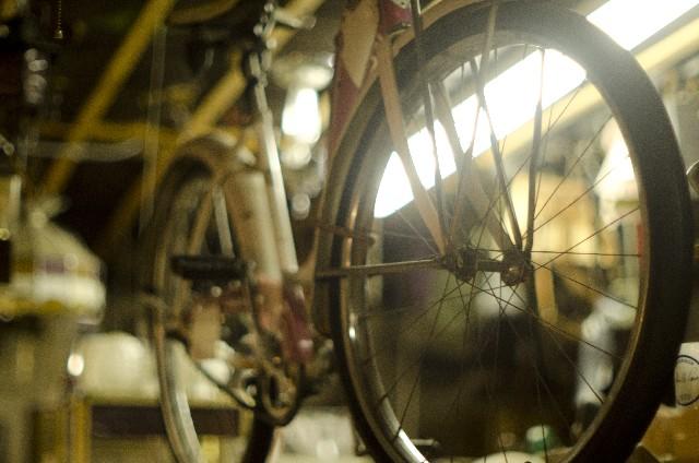 クロスバイクのタイヤのパンクを修理しよう!