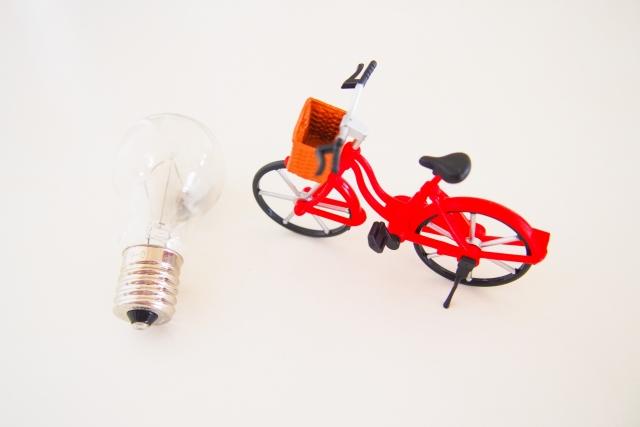 自転車のライトがつかなくなったら交換しよう!