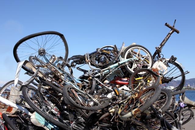 ロードバイクのタイヤ等を処分したい!!処分方法は??