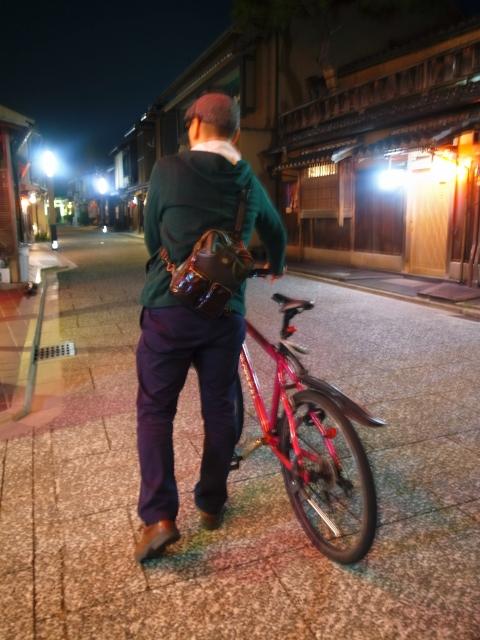 京都の夜をツーリングしよう!!京都はサイクリングに最適!