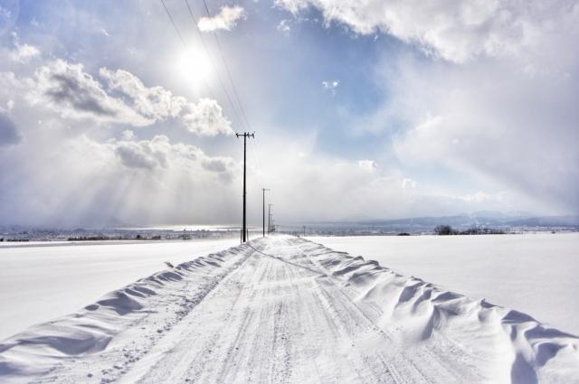 雪道で自転車タイヤが滑るのを防ぐ方法はある!?