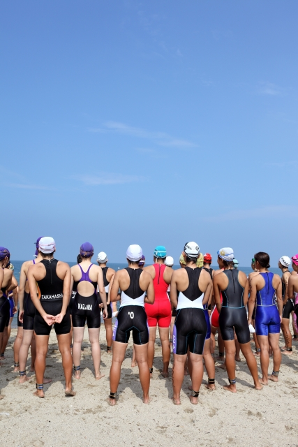マラソン、水泳、自転車、3種目のトライアスロンに挑戦!