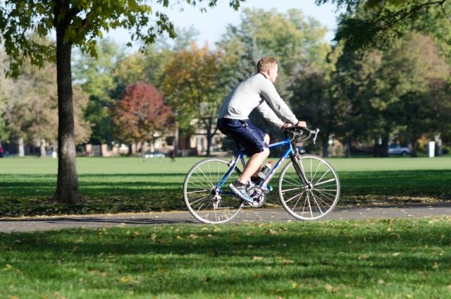 3キロは自転車にとって長くない。初心者で十分走行可能!