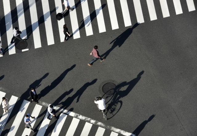 自転車で二段階右折は行うべき?違反すると点数の加点対象?