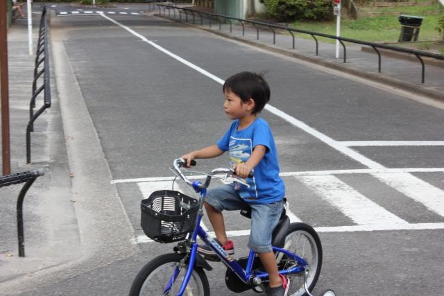 自転車は初心者マークがつかない!お子さんを事故から守ろう