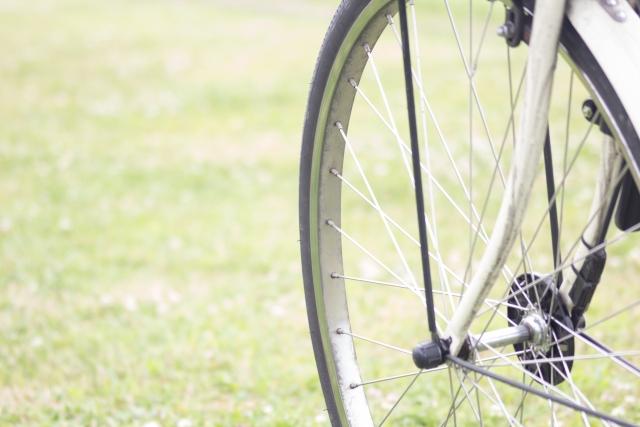 自転車の前輪の歪み!原因・対処法・購入時の注意点