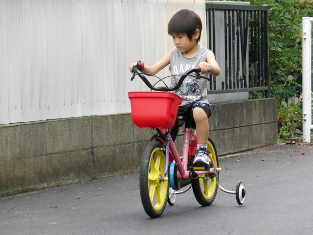 子供用の自転車を改造してみた!自転車の効率的な活用方法!