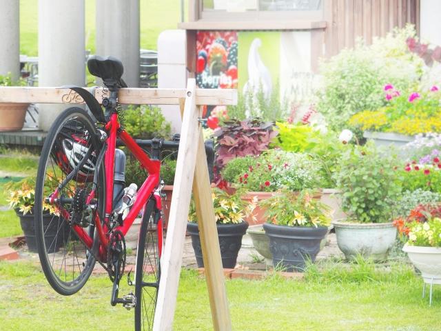 スポーツ自転車をオシャレに保管!自作スタンドの作り方!