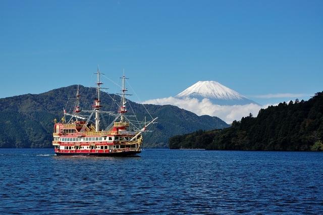 絶景の富士山ビュー!芦ノ湖のサイクリングロードを走ろう