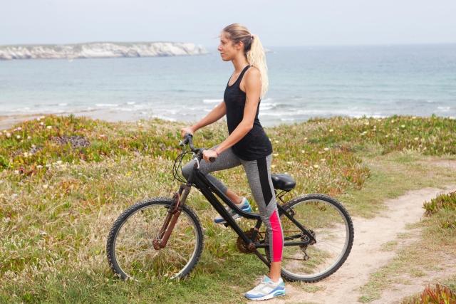自転車の運動量は意外に多い!?毎日30分でダイエットに!