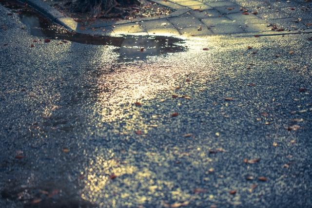 ジオスのミストラルに泥除けを付ければ濡れた路面も安心