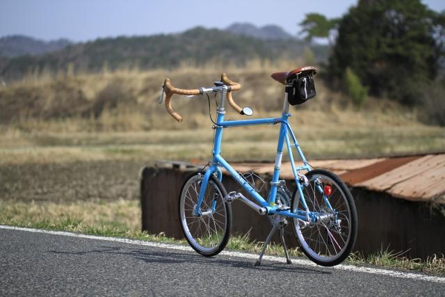 お洒落なロードバイク!タイヤの小さい自転車のメリットとは