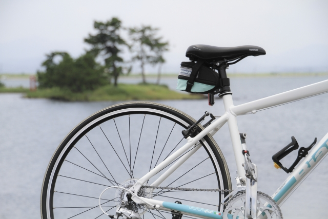 ビアンキの純正品!クロスバイクに空気入れは必需品!