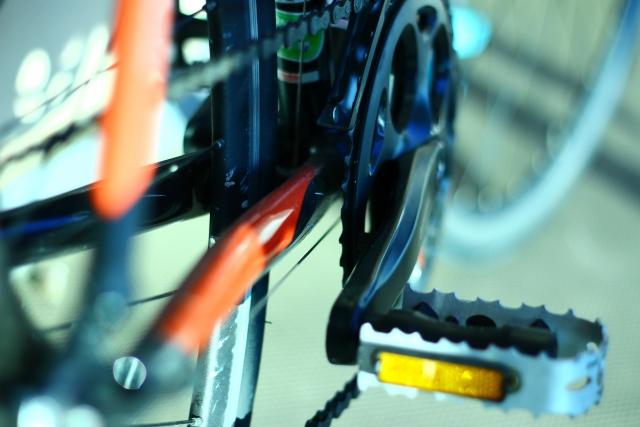 自転車のクランク周辺から異音がする!原因は?