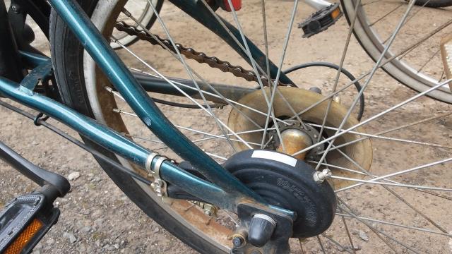 自転車のバンドブレーキを交換する!ドラムを外すためには?